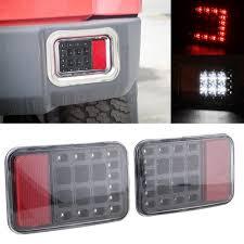 led bumper backup lights 2 pcs led tail rear back bumper light back up reverse lights back