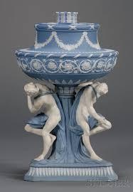 Wedgwood Vase Patterns Wedgwood Solid Blue Jasper Michelangelo Vase And Cover England
