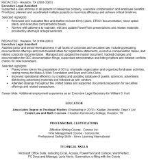 Paralegal Skills For Resume 100 Sample Paralegal Resume Write My Professional Scholarship