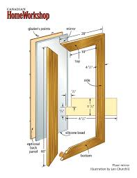 How To Draw A Sliding Door In A Floor Plan Diy Floor Mirror I Have An Old Sliding Closet Door Mirror I