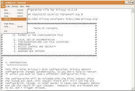 membuat database sederhana menggunakan xp membuat proxy server sederhana di windows xp menggunakan privoxy