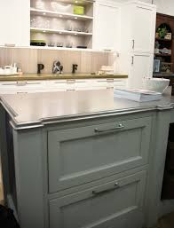 Plain Fancy Cabinetry Metal Countertop Wood Countertop Butcherblock And Bar Top Blog