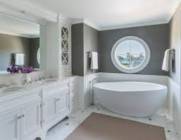 faux grasscloth wallpaper home decor master bathroom free standing tub gray grasscloth wallpaper