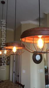 Farmhouse Lighting Chandelier by Ceiling Light Chicken Feeder Pendant Light Industrial Pendant