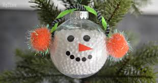 diy simple snowman ornament hip2save