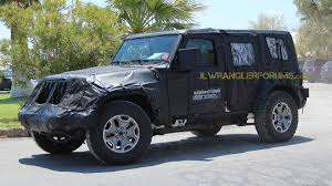 2018 jeep wrangler spy shots of 2018 jeep wrangler