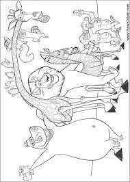 drawings paint u0026 colour madagascar print design 009