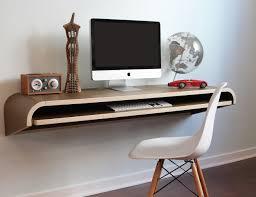 minimal float wall desk by orange22 multi use workstation or