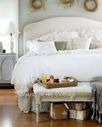 french cottage shabby white chic pure linen duvet u0026 pillow shams