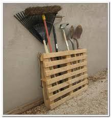 diy yard tool storage home design ideas