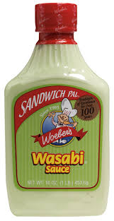 wasabi mustard wasabi sauce 16oz woeber mustard online store