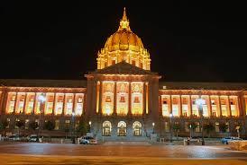 sf city hall lights san francisco awash in orange pride world series ticket prices