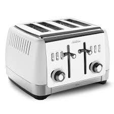 Sunbeam 4 Slice Toaster Review Sunbeam London Collection White Four Slice Toaster Peter U0027s Of