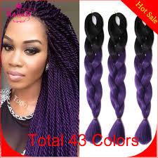 ombre kanekalon braiding hair crochet braids ombre hair creatys for