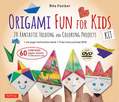 origami fun for kids kit book summary u0026 video official