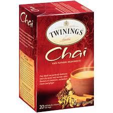 twinings of chai tea 20 ct walmart