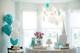 Winter Party Decorations - kara u0027s party ideas winter onederland themed first birthday party