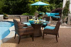 Patio Dining Set by 5 Piece All Weather Tahiti Outdoor Dining Set