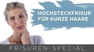Hochsteckfrisurenen F Kurze Haare Zum Selber Machen Leicht by Dirndl Frisur Mit Twist Für Kurze Haare Two For Fashion