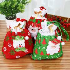 personalized santa sack chirstmas gift bag 24 20cm santa sack personalized santa sack
