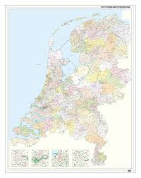 Map Of Netherlands Post Code Map Of Netherlands European Countries U0026 China