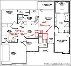 home plans with elevators impressive decoration house plans with elevators ranch elevator