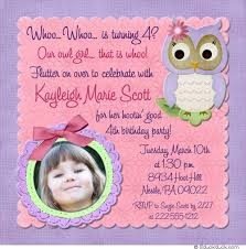fourth birthday invitation wording invitation ideas