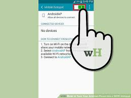 mobile hotspot for android 2 easy ways to turn your android phone into a wi fi hotspot