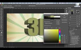 how to make 3d text u2013 photoshop cc tutorial make your media