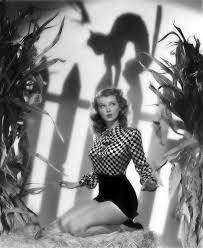 lillian wells vintage halloween pinup