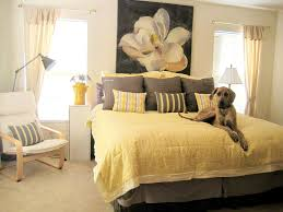 bedroom grey and yellow bedroom decor exquisite gray and yellow