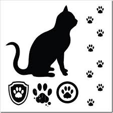 cat paw tattoos clipart best clipart best