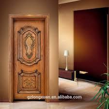 teak wood single main door designs wood carving works latest