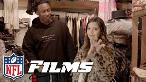 katie nolan u0026 brandon marshall go antiquing nfl films presents