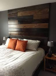 Wood Headboard Diy Incredible Awesome Floor To Ceiling Headboard Diy 54 For Your