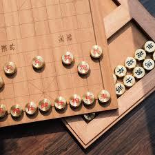 brass chinese chess set u2013 scene shang