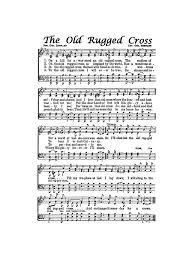 the old rugged cross hymn digital sheet music easter christian