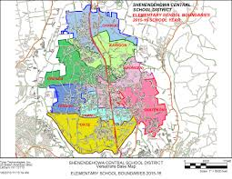 Richmond Zip Code Map by District Directions Maps And Boundaries Shenendehowa Central