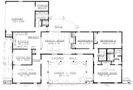 free 3 bedroom ranch house plans with carport th hahnow