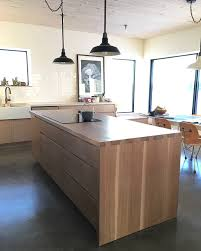 white washed pine cabinets scandinavian design blue heron ecohaus