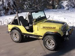 cj jeep yellow cj5 jeep sold