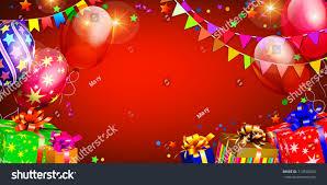merry birthday background stock vector 714596503