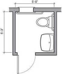 Narrow Powder Room - bathroom solution tiny powder room layout bathroom plans small