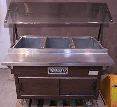 serving line steam tables vollrath electric 4 pan food buffet cart steam warming serving