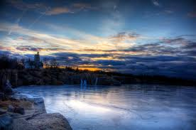 amazing frozen hd lake 1524 nature hd desktop wallpaper