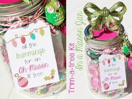 Diy Crafts For Christmas Gifts - tree trimming kit using a mason jar diy christmas gift craft