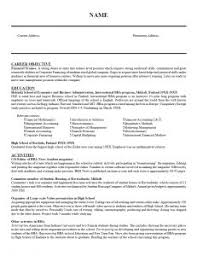Successful Resume Templates Resume Formats Samples Attorneylegal Format For Resumes Resume