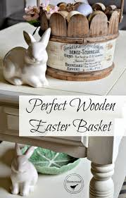wooden easter baskets diy wooden easter basket reader feature the graphics fairy