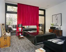 marvelous bedroom decoration with single master bed black
