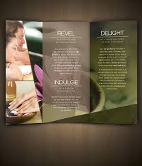 spa brochure 39 best spa brochures images on pinterest brochures